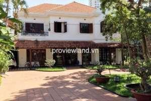 Cho thuê biệt thự quận 2 đường Xuân Thủy 5PN sân vườn hồ bơi