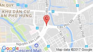 Bản đồ khu vực Eco Green Sài Gòn