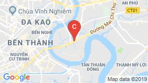 Bản đồ khu vực Sài Gòn Broadway