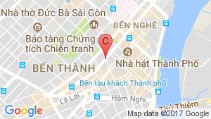 Vinhomes Golden River location map