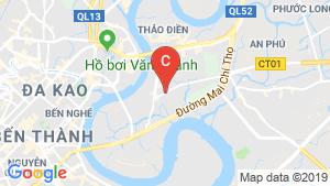 Bản đồ khu vực Paris Hoàng Kim