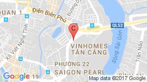 Bản đồ khu vực Vinhomes Central Park