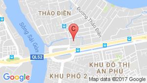 Bản đồ khu vực THẢO ĐIỀN PEARL
