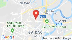 Bản đồ khu vực Cho thuê căn hộ 2 phòng ngủ tại Phường 12, Quận Bình Thạnh, Hồ Chí Minh