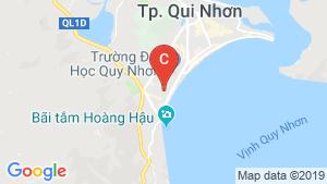 Bản đồ khu vực Quy Nhơn Melody