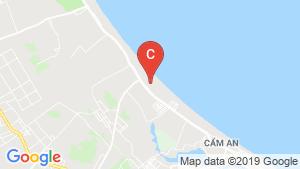 Bản đồ khu vực Malibu Hội An