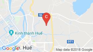 Bản đồ khu vực Cần bán shophouse 4 phòng ngủ tại Thủy Vân, Hương Thủy, Thừa Thiên Huế