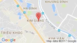 Bản đồ khu vực Five Stars Kim Giang