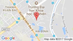 Bản đồ khu vực 282 Nguyen Huy Tuong Apartment
