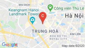 Bản đồ khu vực Chelsea Residences (Chung cư E2 Yên Hòa)