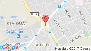 Bản đồ khu vực Le Grand Jardin Sài Đồng