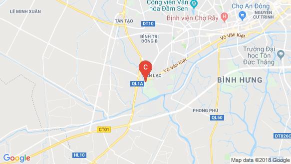 Bản đồ khu vực Akari City