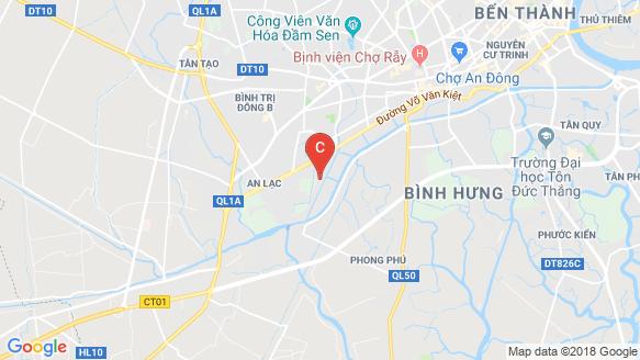 Dream Home Riverside location map