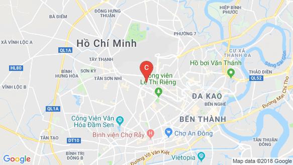Bản đồ khu vực La Cosmo Residences
