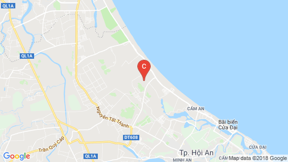 X2 Hoi An Resort & Residence location map